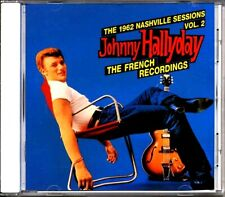 SEALED NEW CD Johnny Hallyday - The 1962 Nashville Sessions Volume 2: The French