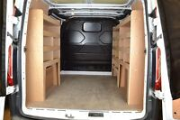 Ford Transit Custom Van Shelving Tool Storage Racking Package - WRK47-53-53
