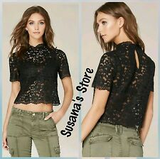 NWT BEBE Lace Bralette Top SIZE S Enchanting sexy Lace top!! $91