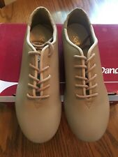 NIB So Danca TA05 Tan Lace Up Tap Shoe Size M 3.5