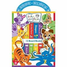 Baby Einstein My First Library 12 Board Books Set With Express
