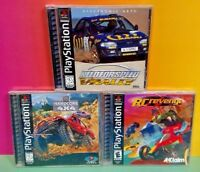 RC Revenge Hardcore 4x4 Need Speed Rally Playstation 1 2 PS1 PS2 Rare Games Lot