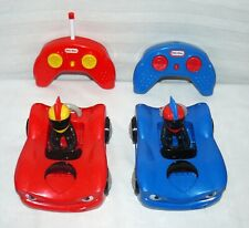 Little Tikes Remote Control Bumper Cars M.G.A. Entertainment Pre-owned