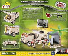 COBI WW2 KUBELWAGEN 200 pcs Africa Corps building blocks German 2339