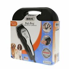 NOB Wahl 9281-210 Quiet Electric Corded Pet Pro Grooming Kit in Chrome / Gray