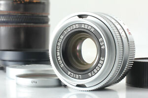 【MINT】 Leica SUMMICRON-M 35mm F/2 ASPH E 39 Lens Silver For M Mount From JAPAN