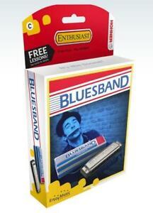 Hohner Bluesband Harmonica - Key C