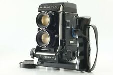【 N.MINT 】 Mamiya C330 PRO F TLR w/ DS 105mm F3.5 Blue dot Lens From JAPAN #1448