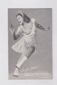 1948 - 49 Exhibit Sports Champions SONJA HENIE Ice Skating Olympics