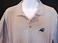 Carolina Panthers Knights Athletics Mens XL Embroidered Logo Gray Logo Shirt XL