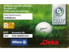 DGV Golf Mitgliedschaft 2018 - 1 Club bezahen 5 Plätze spielen GolfAlliance Köln