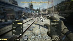 Fallout 76 PC ONLY Bloodied Explosive 90/% Weight Gatling Laser BE