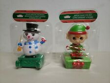Solar Dancing Holiday Snowman; Solar Powered; & non-dancing Elf (included free)