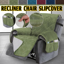 Recliner Chair Seat Covers Couch Double Diamond Quilted Slipcover for Kid Pet Us