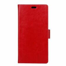 Housse pour HTC U11 Plus rouge portefeuille