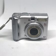 Canon PowerShot A540 Digital Camera 6.0MP With Sd Card