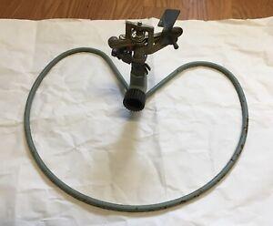 Vintage RAIN BIRD Melnor Sprinkler Heart Shaped Metal Base Sprinkler