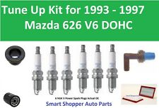 Oil Filter, Air PCV V Spark Plugs Tune Up For 1993 1994 1995 1996 1997 Mazda 626