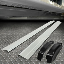 FOR 99-07 SILVERADO SIERRA EXTENDED CAB PAIR OUTER ROCKER PANEL+REAR CAP CORNERS