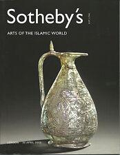 SOTHEBY'S ISLAMIC ART QURAN GLASS POTTERY OTTOMAN MUGHAL DAGGER JEWELS Catal 03