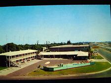 Sierra Lodge One of Merced's Newest Postcard 1950s