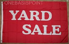 3'x5' Yard Sale Message Flag Outdoor Banner Business Advertising Sign Huge 3x5
