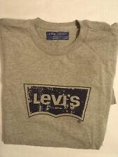LEVI'S Red Tab Mens Small Grey Short Sleeve Shirt NWT