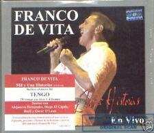 FRANCO DE VITA MIL Y UNA HISTORIAS VIVO SEALED 2 CD SET