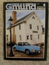 "1980 Gmund ""Gmünd"" Porsche Magazine, No 4, 4th Issue VERY RARE Long Out Of Print"