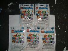 LEGO, POLY BAG  UNIKITTY   LEGO BAG   (  UNIKITTY  SERIES 1   )  5 PACKS