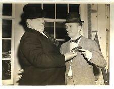 "STAN LAUREL & OLIVER HARDY in ""Block Heads"" Original Vintage Photo 1938"