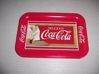 Vintage 1989 Delicious Coca-Cola Sold Everywhere 5 Cent Small Advertising Tray