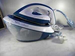 TEFAL EXPRESS COMPACT  SV7110 STEAM GENERATOR IRON BLUE WHITE UK SELLER FREE P&P