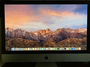 Apple iMac 27in Desktop i5 1TB (Sept 2013) Slightly Used W/PawTec Cover