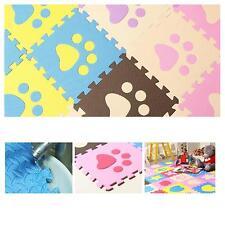 Chic Soft EVA Foam Pattern Puzzle Mat Pad Floor Crawling Carpet Room Baby Games