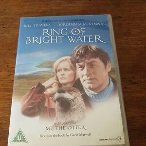 Ring of Bright Water DVD (Region 2 Europe) LIKE NEW Bill Travers