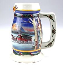 Budweiser Holiday in the Mountains Beer Stein 2000 Christmas, CS416