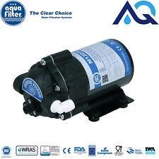 Aquafilter Diaphragme Pompe de gavage Ro Eau avec accessoires 75 GPD 24 V/DC