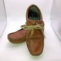 Marks and Spencer Blue Harbour Men's Size 8 ? Brown Leather Lace Up Shoes