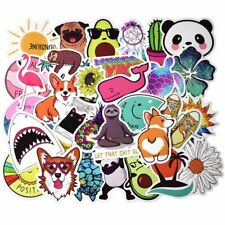 50x Laptop Skateboard Stickers Luggage Car Bicycle Guitar Decals Sticker Unique