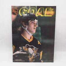 Vintage Goal Hockey Magazine Pittsburgh Penguins 1987 1988 Vol 21 No 17
