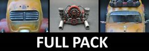 ACCESSORIES FULL PACK SAND SCORCHER  1/10 UNPAINTED