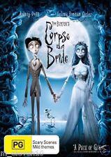 Tim Burton's CORPSE BRIDE : NEW DVD