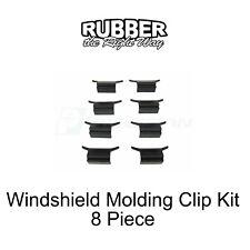 2004 2005 2006 2007 2008 Ford Truck Windshield Molding Clip Kit - 8 pc.