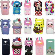 3D Cartoon Silicone Cover Case For Samsung Galaxy J2/5/7 Prime J5 J7 Duos J7 Neo