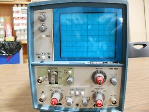 Tektronix T922 2-Channel Analog Oscilloscope 15 MHz/Ch For Parts Only