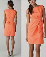 Diane Von Furstenberg DELLA Color Peach Dress Size 10 $325