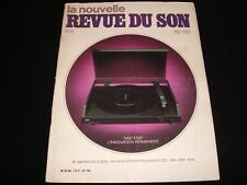 LA NOUVELLE REVUE DU SON<>MAY 1983<>FRENCH AUDIO MAG.°#68°ACCUPHASE C280