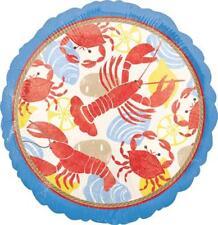 SET of 2 SHRIMP BOIL Clam Bake Lobster BAYOU CRAWFISH balloon FREE SHIPPING