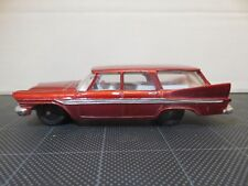 Morgan Milton Plymouth Sports Suburban Red Station Wagon Die-Cast Car 1/43 Box